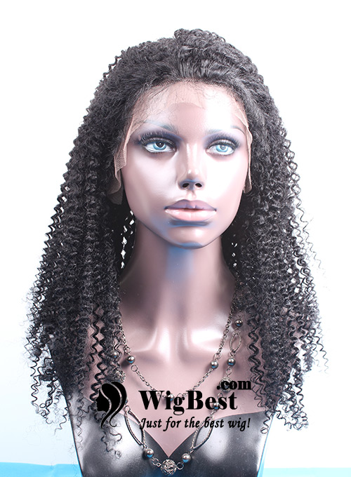 Best Afro Curl Lace Front Wigs for Black Women from WigBest.com Store