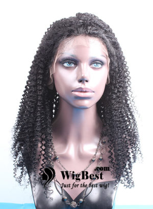 Best Afro Curl Human Hair Lace Front Wigs for Black Women