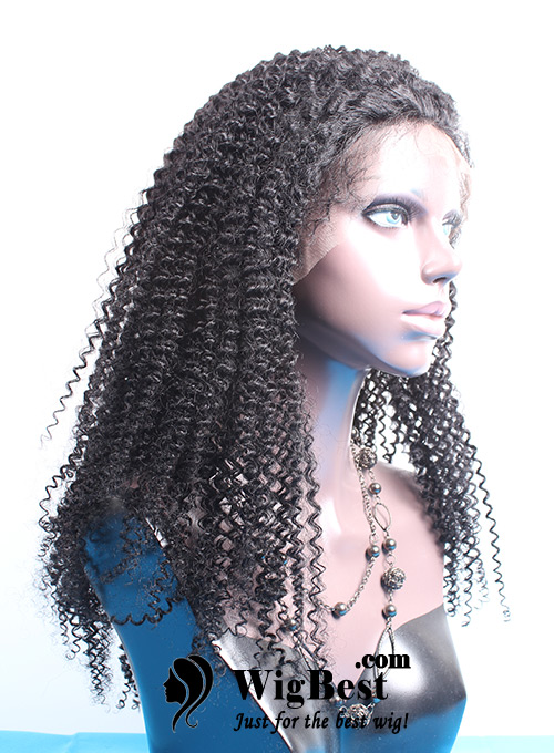 Best Afro Curl Lace Front Wigs for Black Women Side