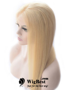 Best Blonde Human Hair Lace Front Wigs Side for Women from WigBest.com Store