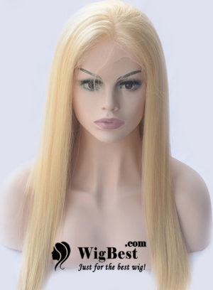Best Blonde 613 Virgin Remy Hair Lace Front Wigs for Women on Sale