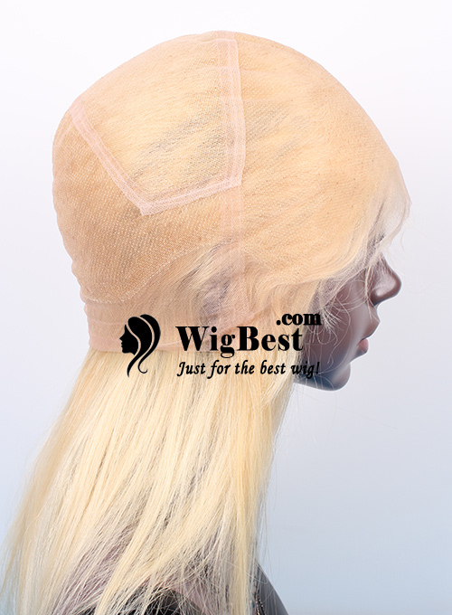 Best Blonde 613 Virgin Remy Human Hair Full Lace Wigs for Women ... 640a173a5