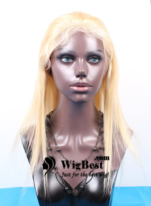 Best Blonde 613 Virgin Remy Human Hair Full Lace Wigs for Women