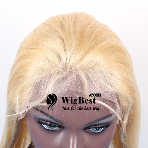 Best Blonde 613 Virgin Remy Human Hair Full Lace Wigs Hairline with Baby hair from WigBest.com Wigs Shop