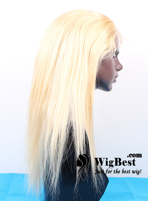 Best Blonde 613 Virgin Remy Human Hair Full Lace Wigs for Women from WigBest.com Wigs Store